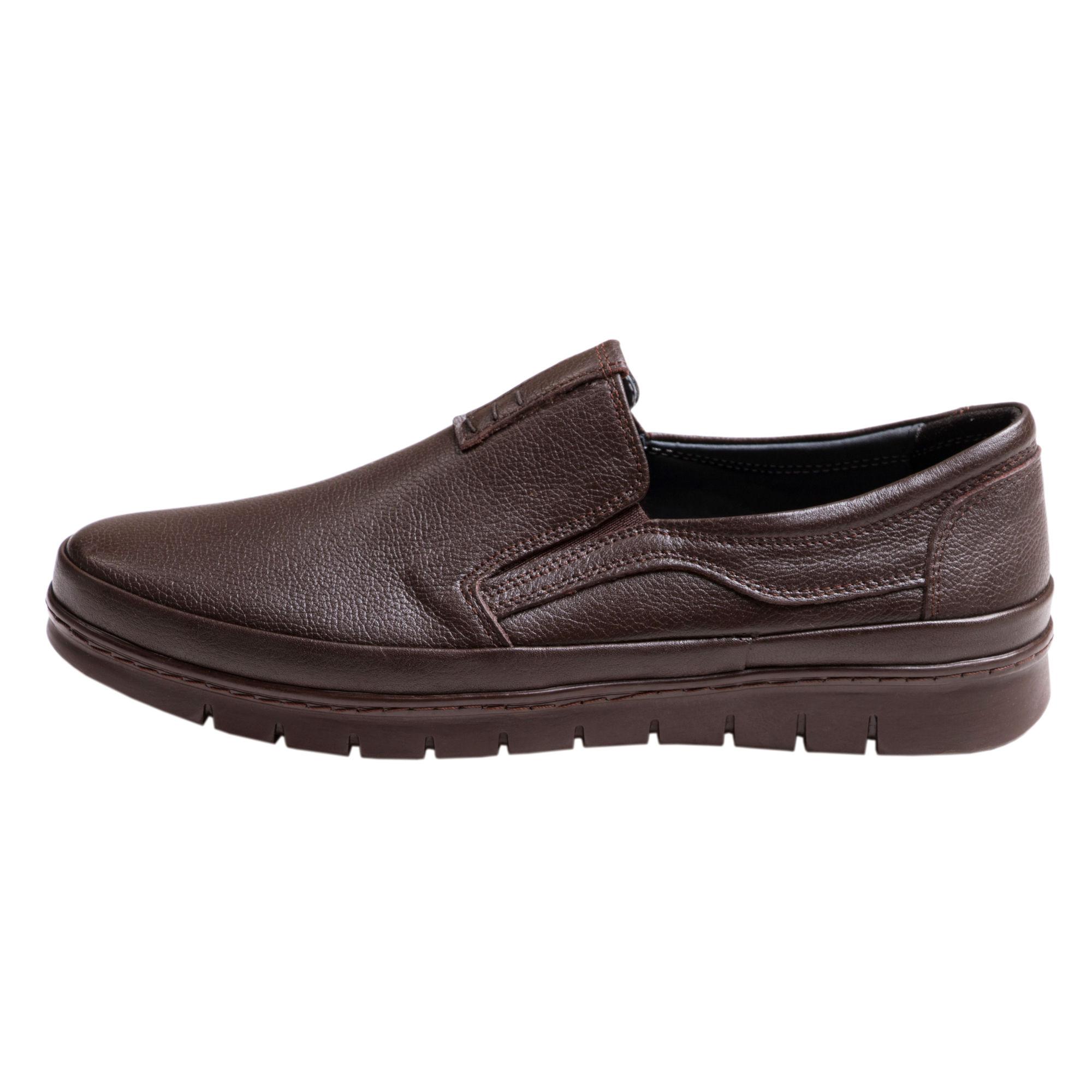 کفش مردانه سی سی مدل فورسه رنگ قهوهای