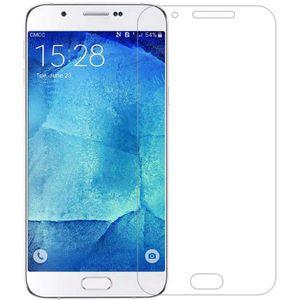محافظ صفحه نمایش شیشه ای نیلکین مدل Amazing H Anti-Burst مناسب برای گوشی موبایل سامسونگ گلکسی A8