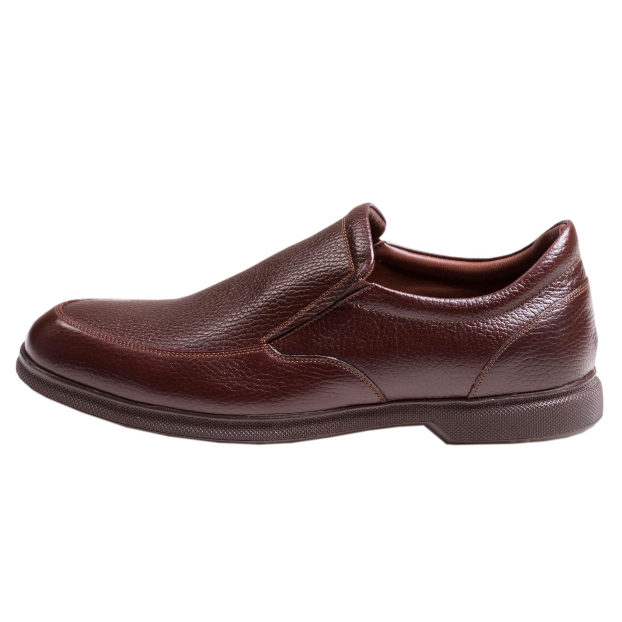 کفش مردانه سی سی مدل نروژی رنگ قهوه ای
