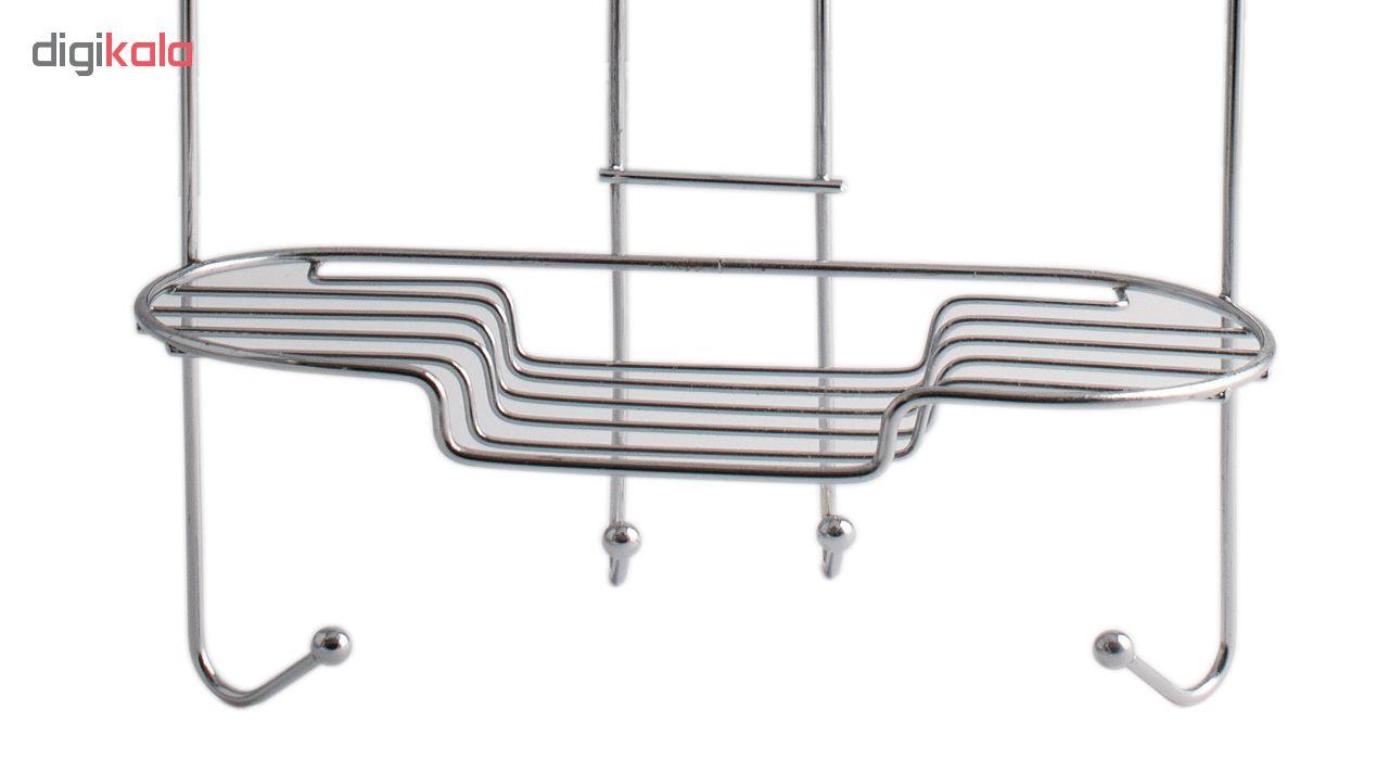 قفسه حمام گل رز مدل FLR-VATE808 طرح قلب سه طبقه main 1 2