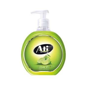 مایع دستشویی آتی با رایحه لیمو وزن 500 گرم
