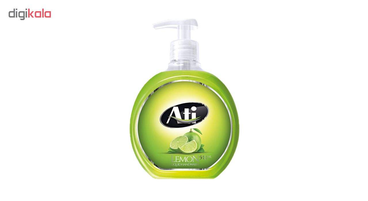 مایع دستشویی آتی با رایحه لیمو وزن 500 گرم main 1 1