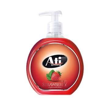 مایع دستشویی آتی با رایحه توت فرنگی وزن 500 گرم