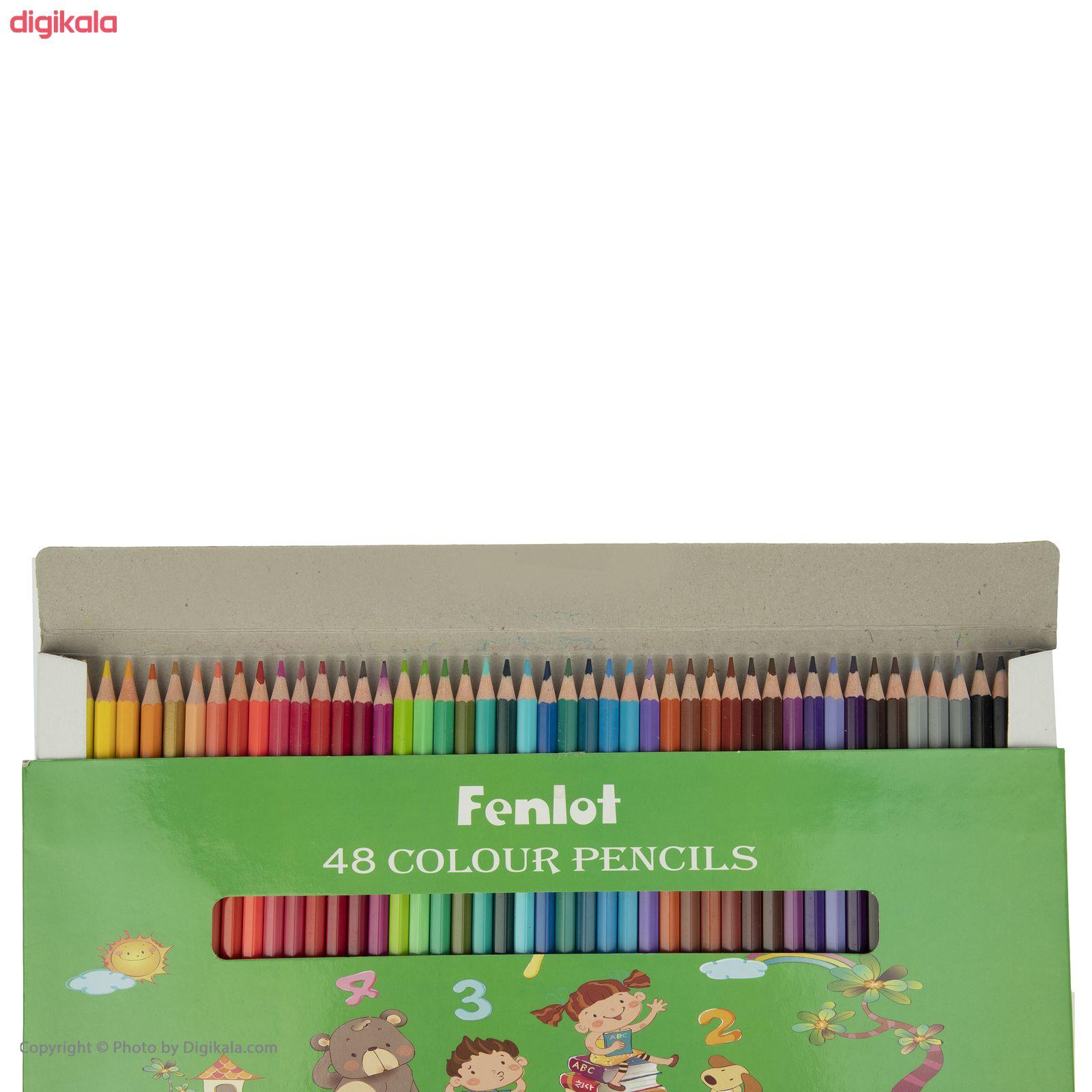 مداد رنگی 48 رنگ فنلوت مدل COLOR-48 main 1 11