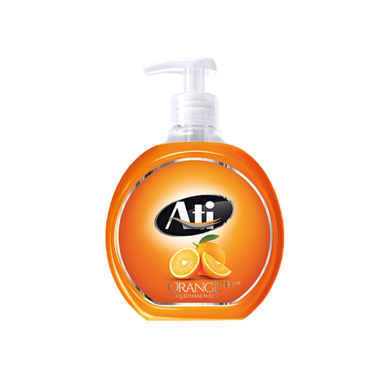 مایع دستشویی آتی با رایحه پرتقال وزن 500 گرم thumb