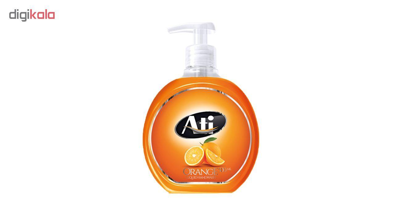 مایع دستشویی آتی با رایحه پرتقال وزن 500 گرم main 1 1