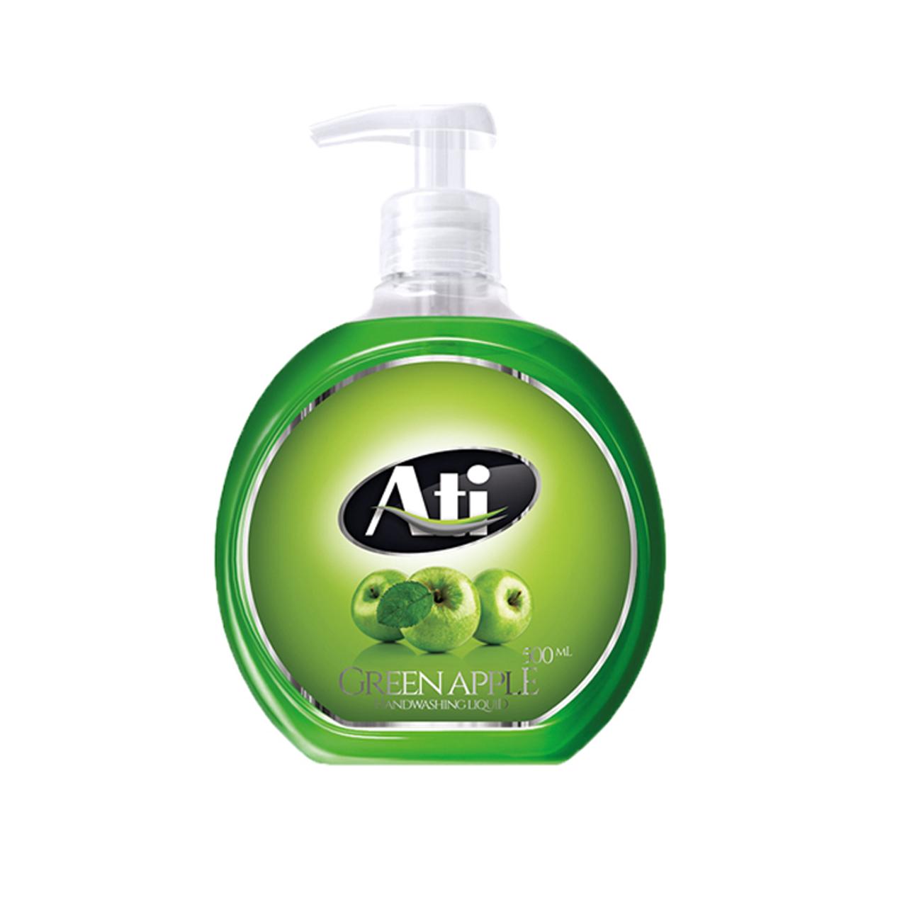 مایع دستشویی آتی با رایحه سیب وزن 500 گرم