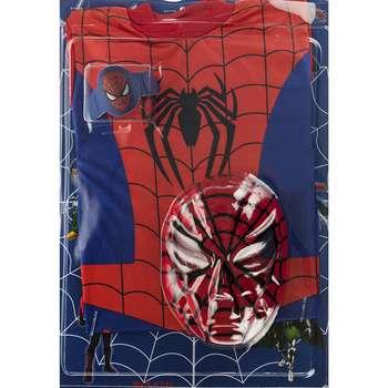 ست لباس و ماسک کودک مدل Spider Man |