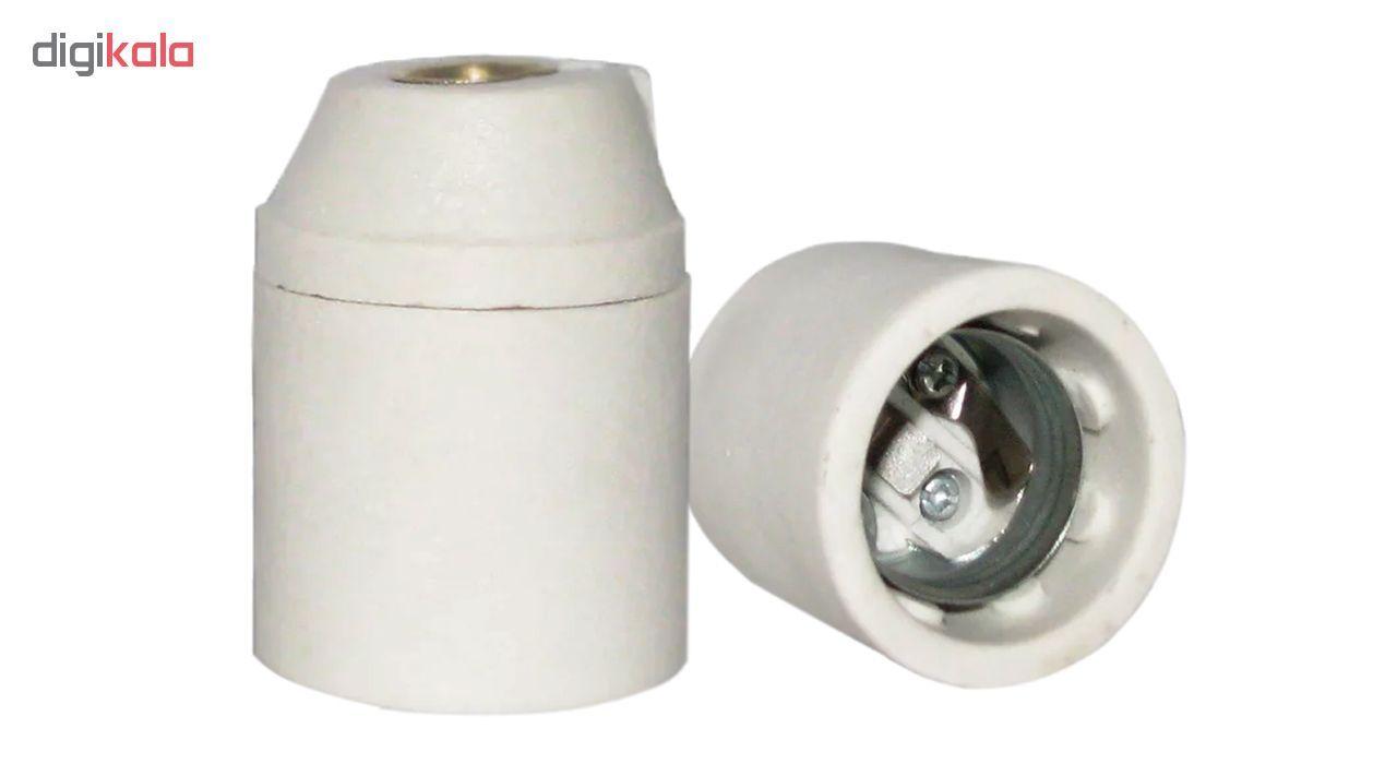 سرپیچ آویز لامپ مدل E27 سرامیکی main 1 1