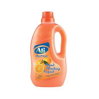 مایع دستشویی آتی مدل شفاف با رایحه پرتقال وزن 2200 گرم