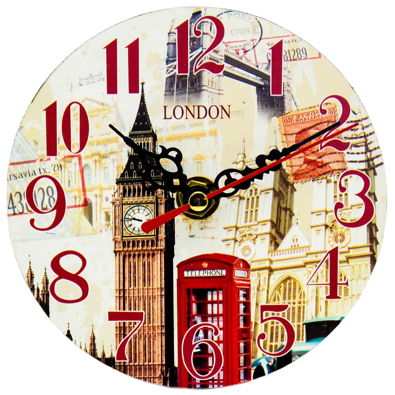 ساعت رومیزی طرح London کد 303