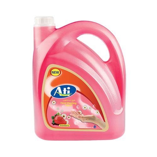 مایع دستشویی آتی مدل فرمیک با رایحه توت فرنگی وزن 3750 گرم
