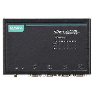 مبدل سریال به اترنت  موگزا مدل NPort 5650l-8-DTL-T