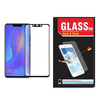 محافظ صفحه نمایش تمام چسب شیشه ای مدل Hard and thick مناسب برای گوشی موبایل هوآوی Nova 3i
