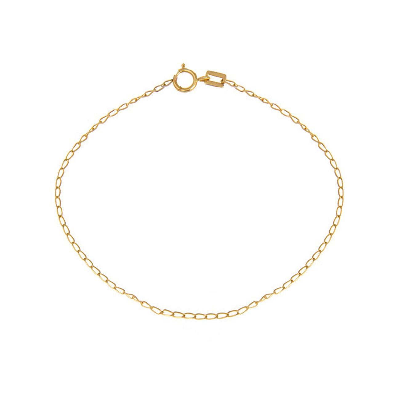 قیمت زنجیر طلا 18 عیار نازنین کد T4801