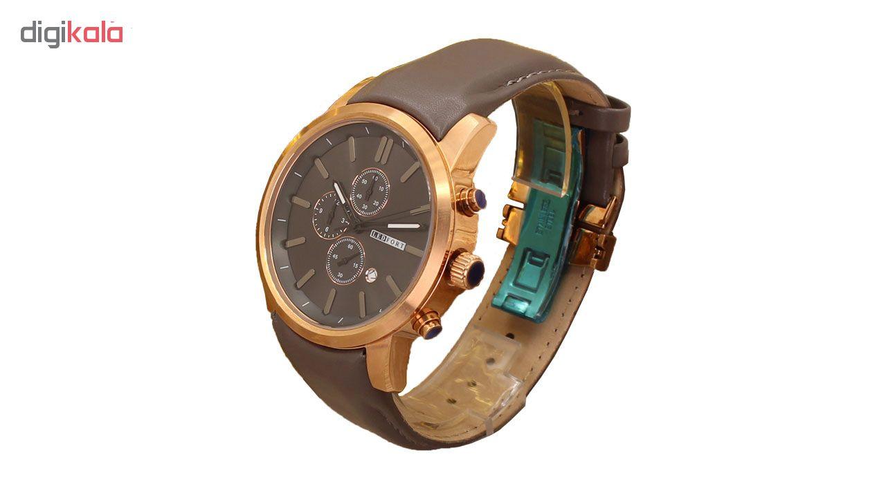 خرید ساعت مچی عقربه ای مردانه لدفورت کد MK-0004