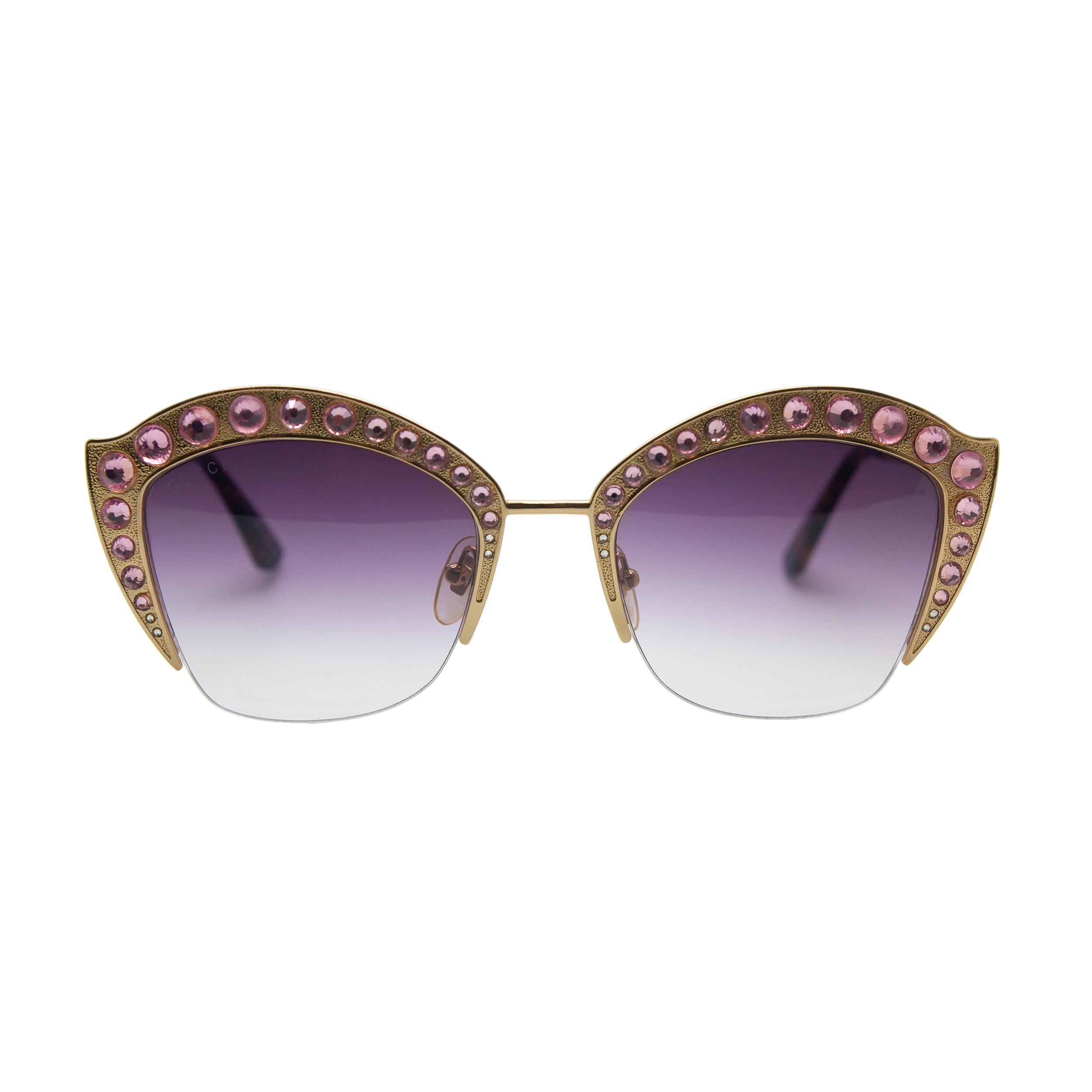 عینک آفتابی زنانه گوچی مدل 0114-S G