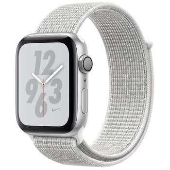 ساعت اپل سری 4 جی پی اس بدنه آلومینیوم طلایی و بند اسپرت لوپ صورتی 40 میلیمتر | Apple Watch Series 4 GPS Gold Aluminum Case with Pink Sand Sport Loop 40mm