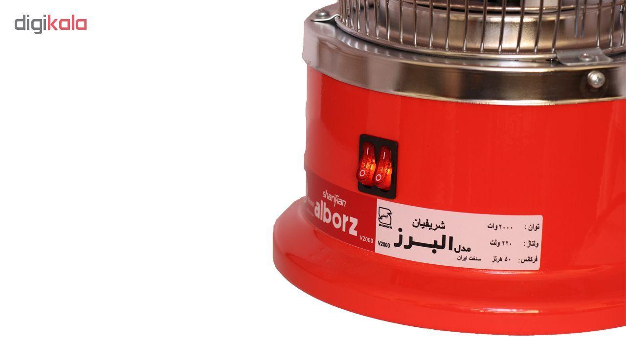 بخاری برقی البرز مدل V2000 main 1 3