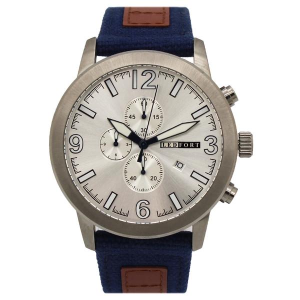ساعت مچی عقربه ای مردانه لدفورت مدل کرنوگراف کد MK-0019