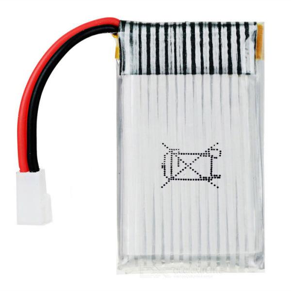 باتری لیتومی مدل 702543 مخصوص کوادکوپتر ایکس 5 بسته دو عددی