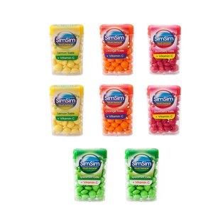قرص خوشبو کننده دهان سیم سیم مدل +C مجموعه 8 عددی
