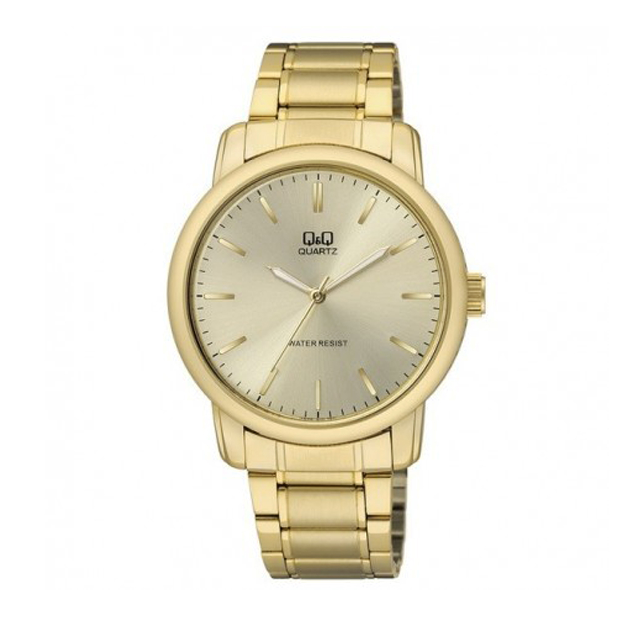 ساعت مچی عقربه ای مردانه کیو اند کیو مدل Q868J010Y به همراه دستمال مخصوص برند کلین واچ 45