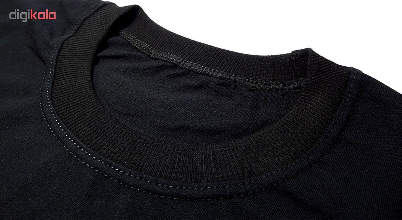 تیشرت آستین بلند مردانه طرح سیبیل کد BW5057