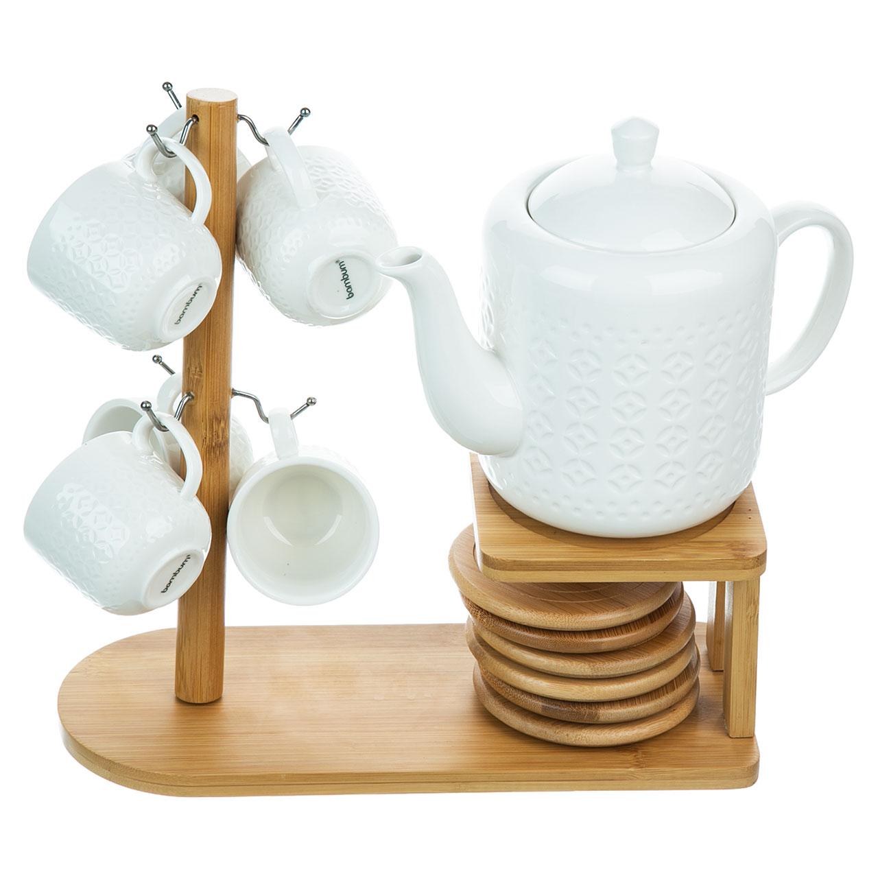 عکس سرویس 15 پارچه چای خوری بامبوم مدل Sencha BB2810