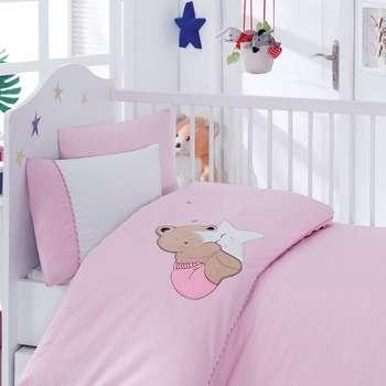 سرویس ملحفه کودک کاتن باکس طرح Boo Boo یک نفره 4 تکه | Cotton Box Boo Boo Child Bedsheet Set 1 Person 4 Pcs