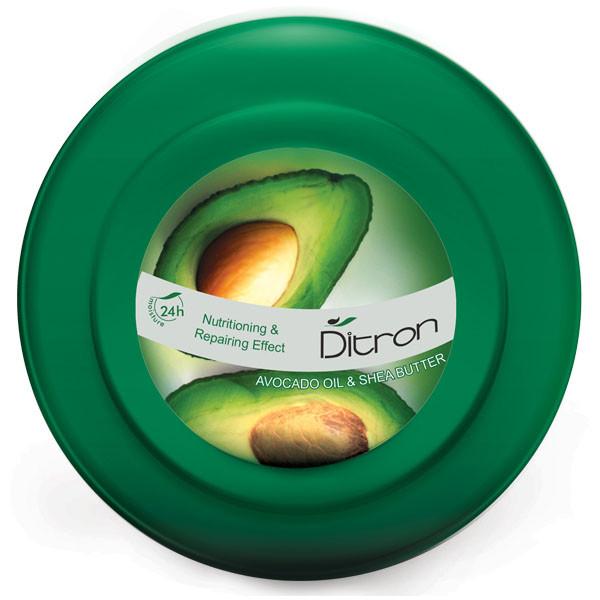 کرم مرطوب کننده دیترون مدل Avocado Oil حجم 200 میلی لیتر