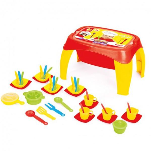 ست اسباب بازی دولو مدل Table And Kitchen 4107