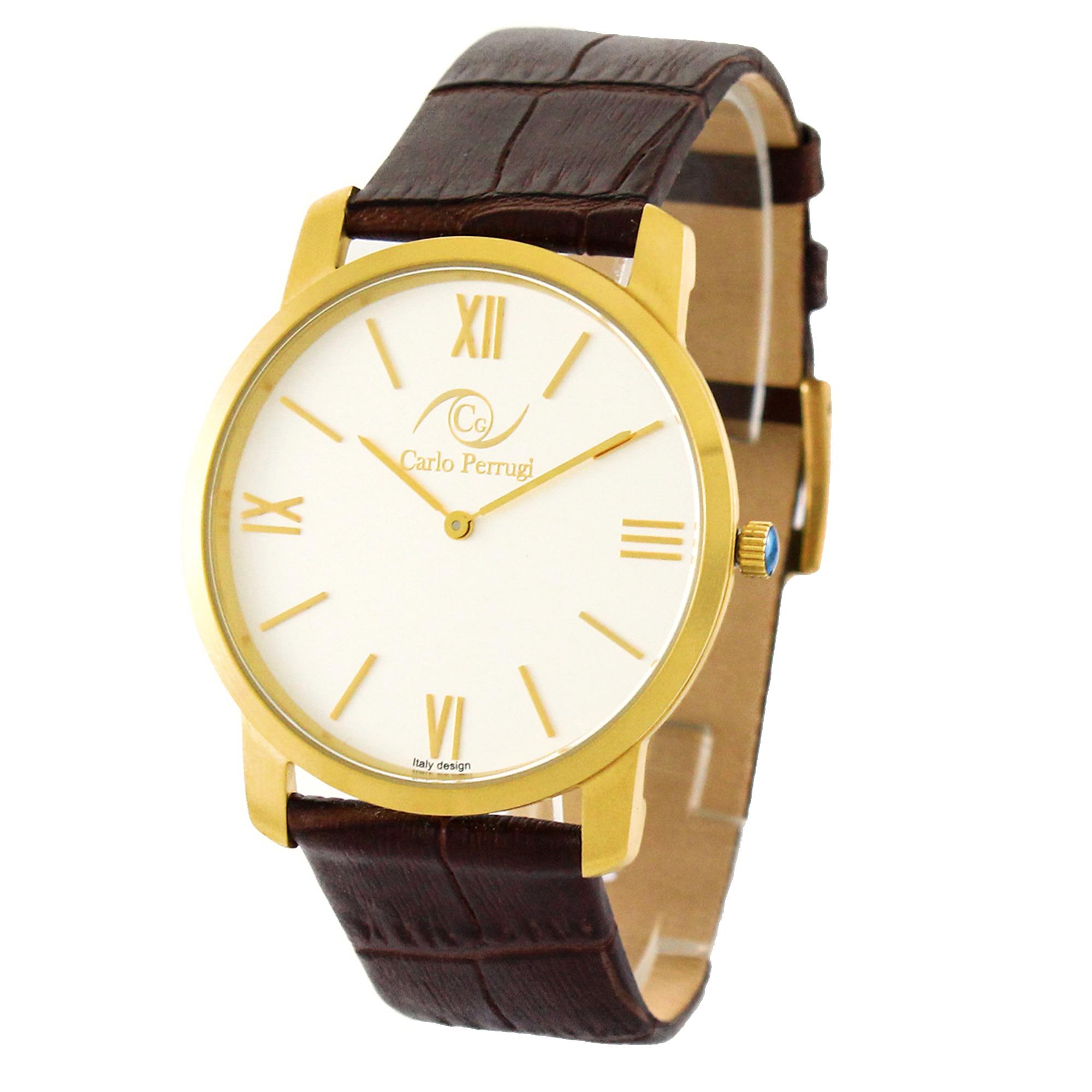ساعت مچی عقربه ای مردانه کارلو پروجی مدل CG3003