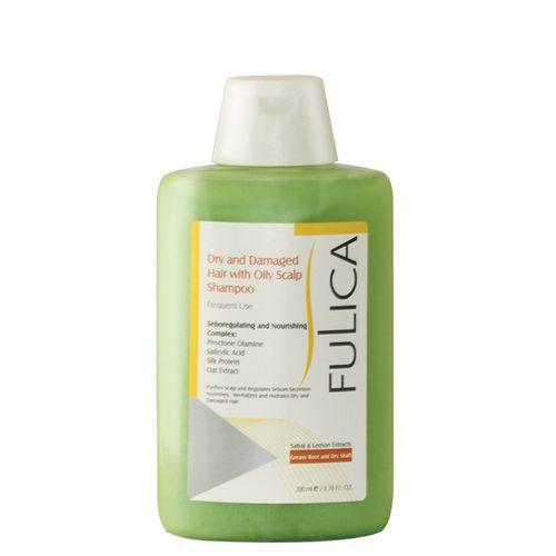 شامپو موی فولیکا مدل Dry And Damaged Hair حجم ۲۰۰میلی لیتر