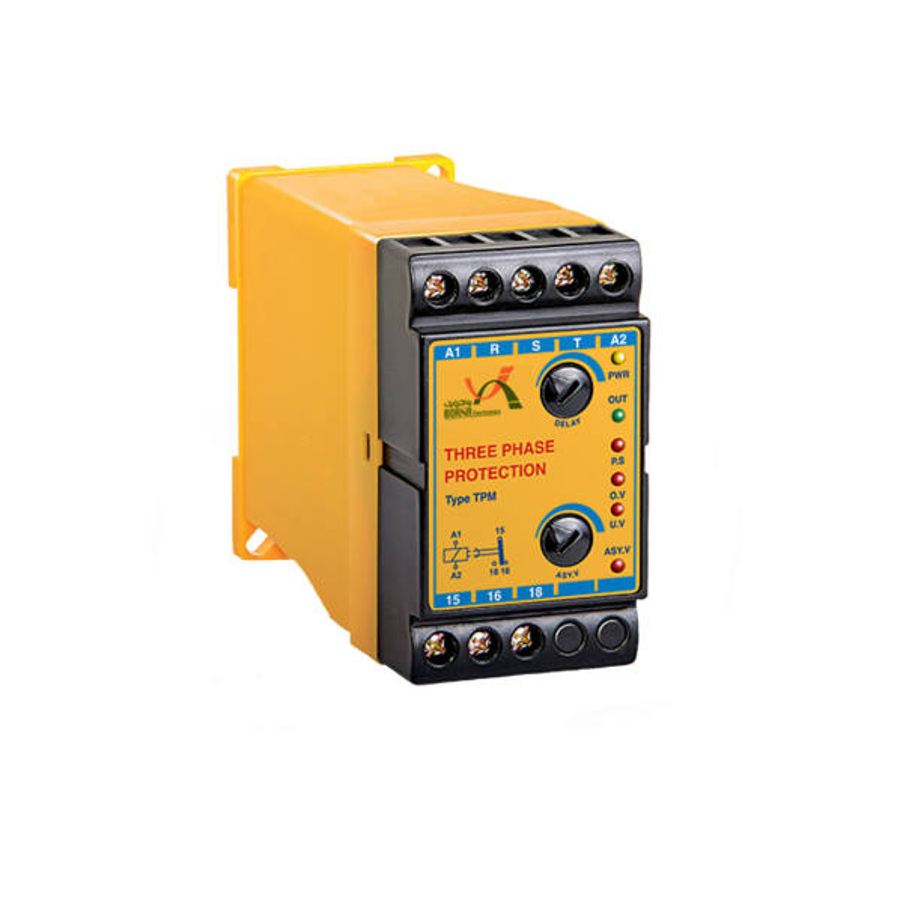کنترل فاز بدون نول برنا الکترونیک مدل TPM