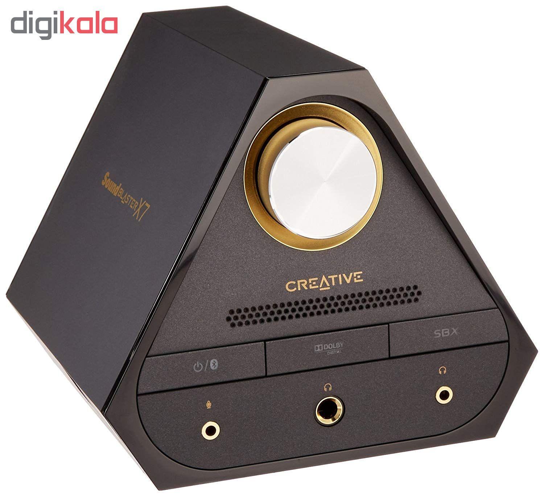 اسپیکر کریتیو مدل E-MU XM7 به همراه آمپلی فایر Sound Blaster X7 main 1 2