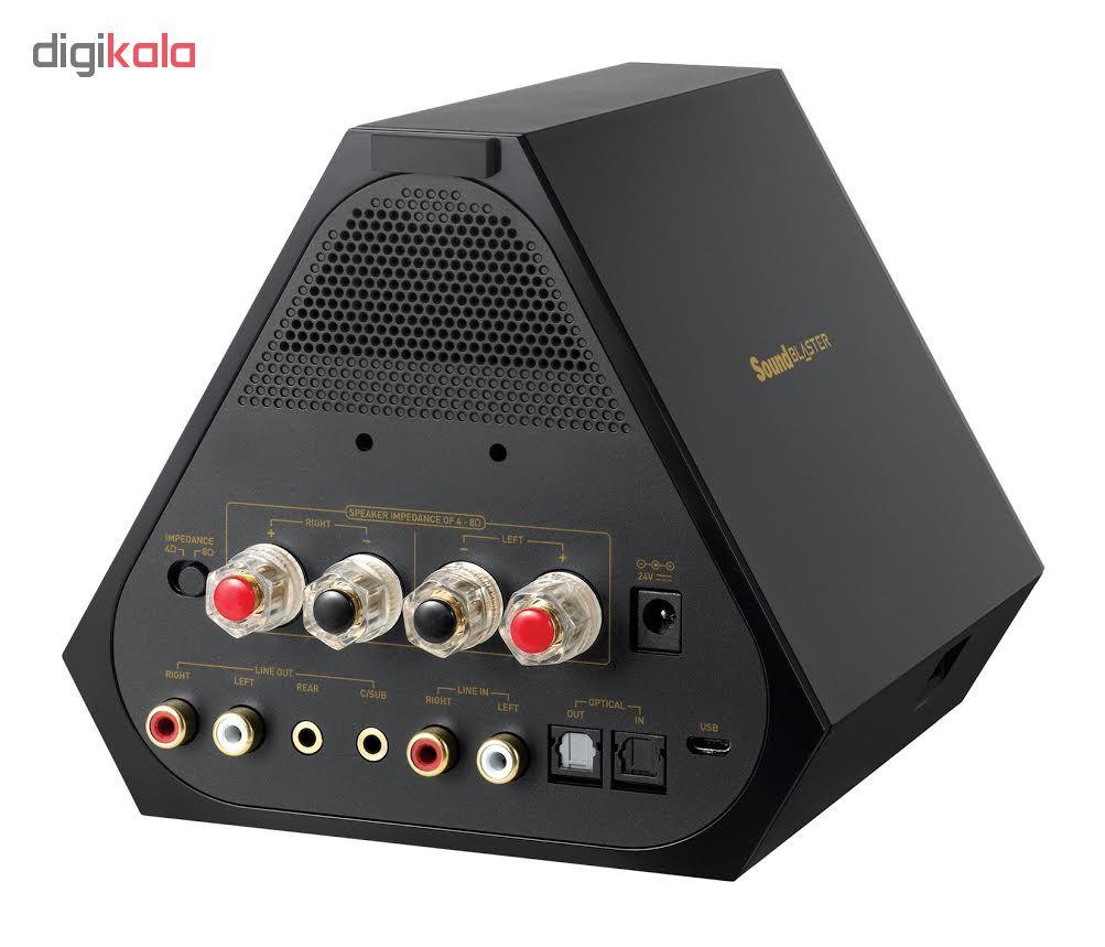 اسپیکر کریتیو مدل E-MU XM7 به همراه آمپلی فایر Sound Blaster X7 main 1 3