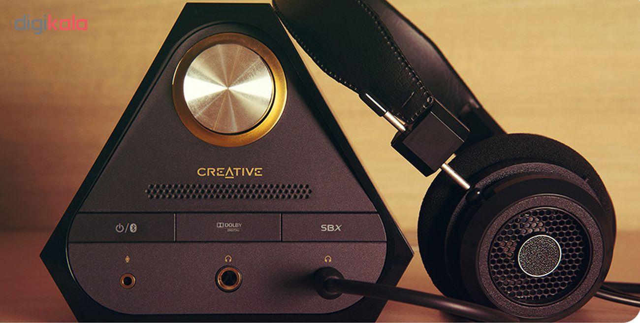 اسپیکر کریتیو مدل E-MU XM7 به همراه آمپلی فایر Sound Blaster X7 main 1 5