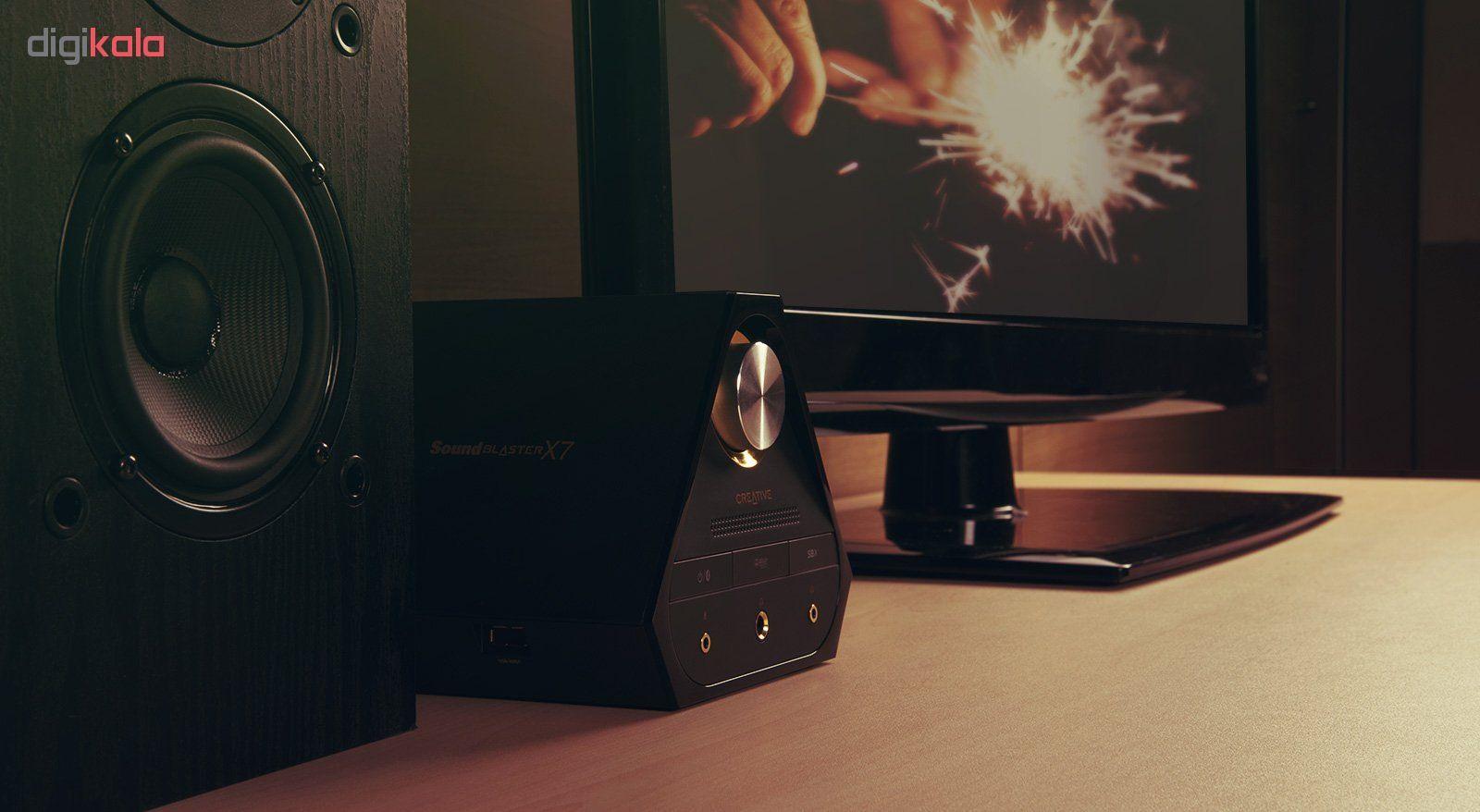 اسپیکر کریتیو مدل E-MU XM7 به همراه آمپلی فایر Sound Blaster X7 main 1 9