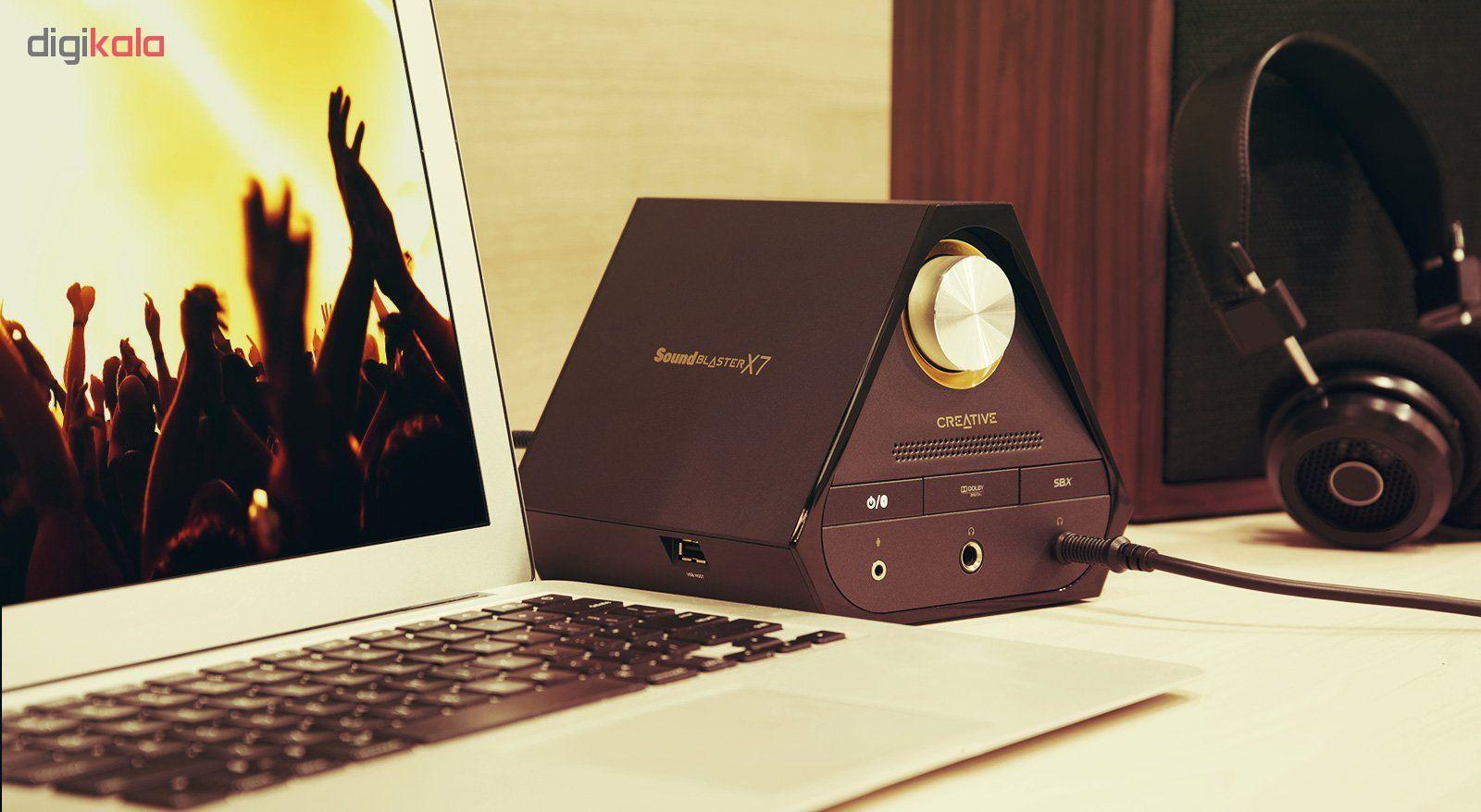 اسپیکر کریتیو مدل E-MU XM7 به همراه آمپلی فایر Sound Blaster X7 main 1 10