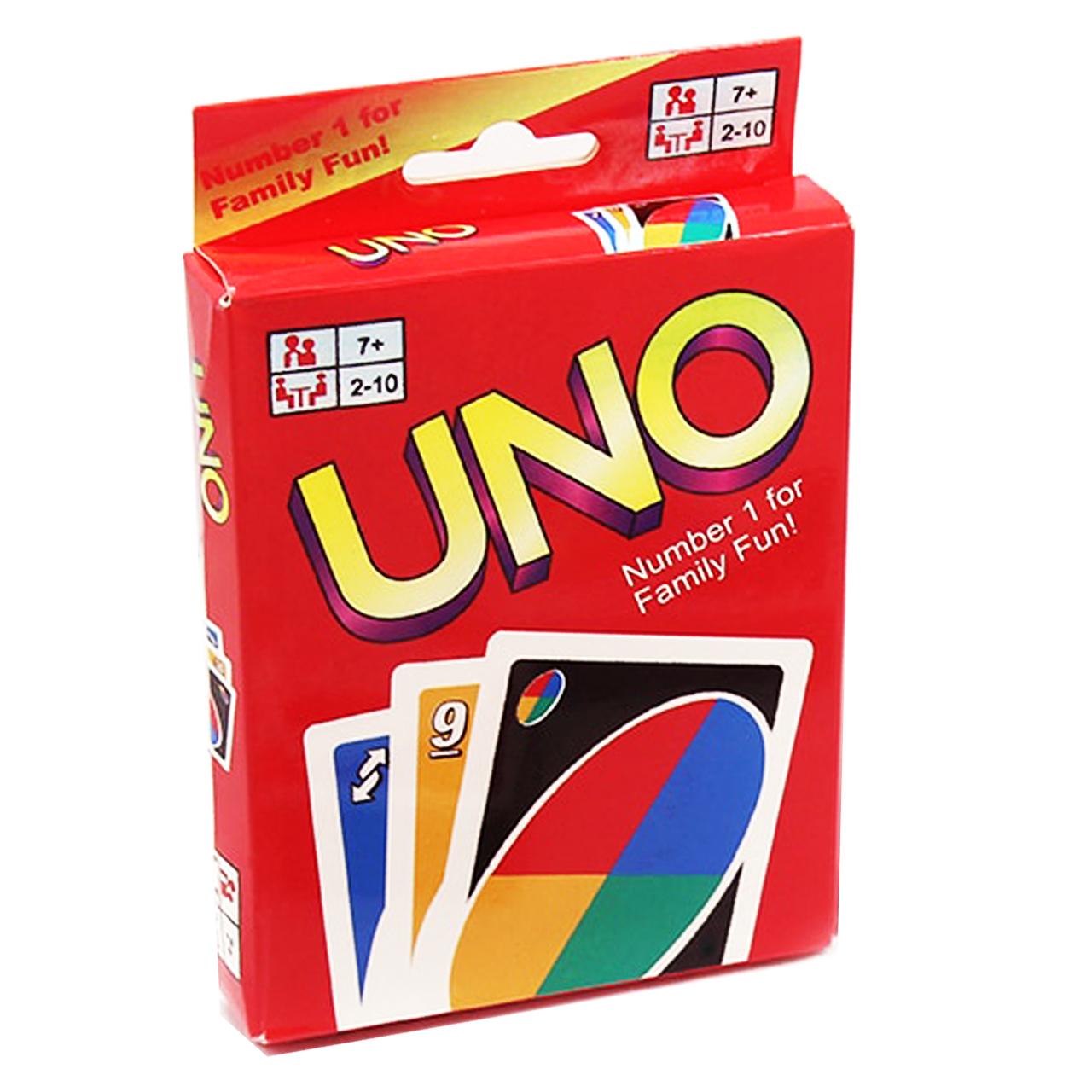 خرید                     بازی فکری 108 کارتی اونو مدل uno 742