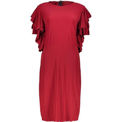 پیراهن زنانه سایز بزرگ طرح مجلسی کد ze1120