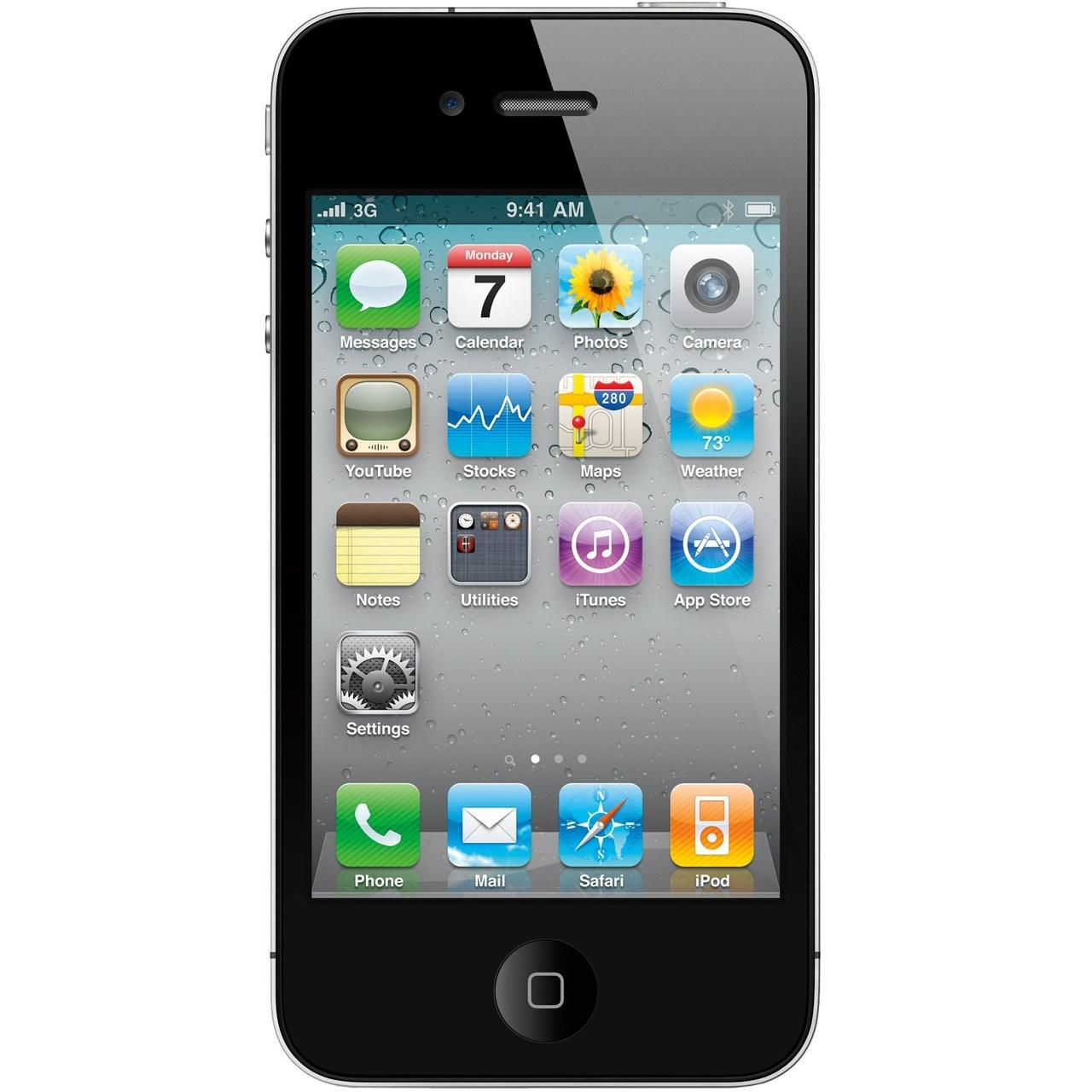 گوشی موبایل اپل آی فون 4 - 8 گیگابایت