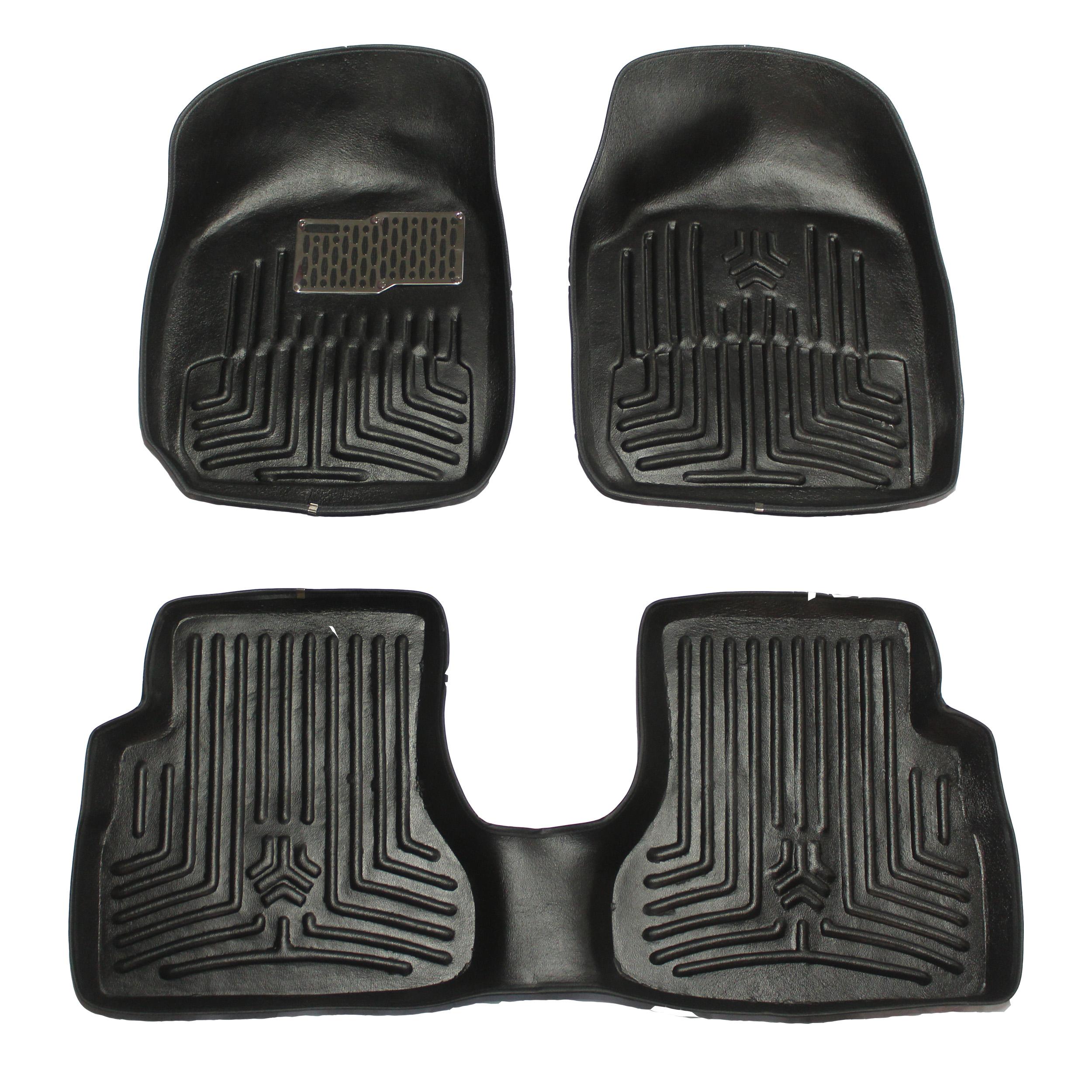کفپوش  سه بعدی خودرو مدل 08 مناسب برای پراید
