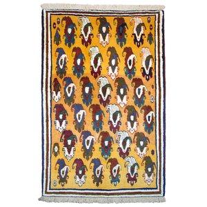 گبه دستباف یک و نیم متری کد 11268