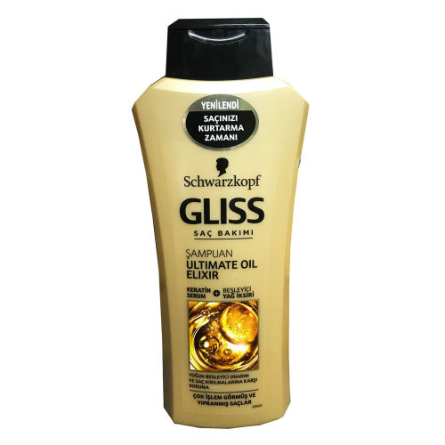 شامپو موی سر گلیس مدل Ultimate Oil Elixir حجم 550 میلی لیتر