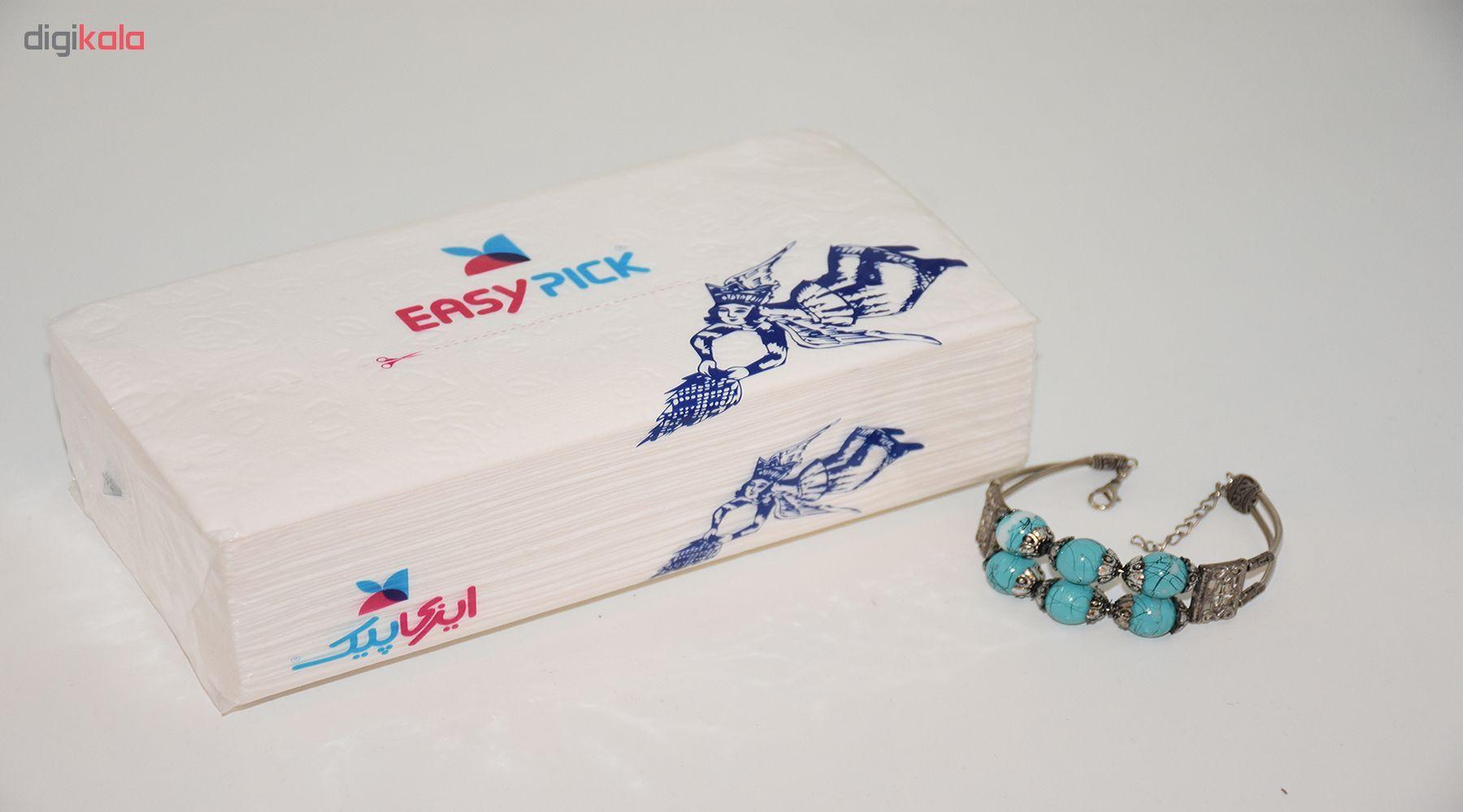 دستمال کاغذی 200 برگ ایزی پیک بسته 10 عددی main 1 4