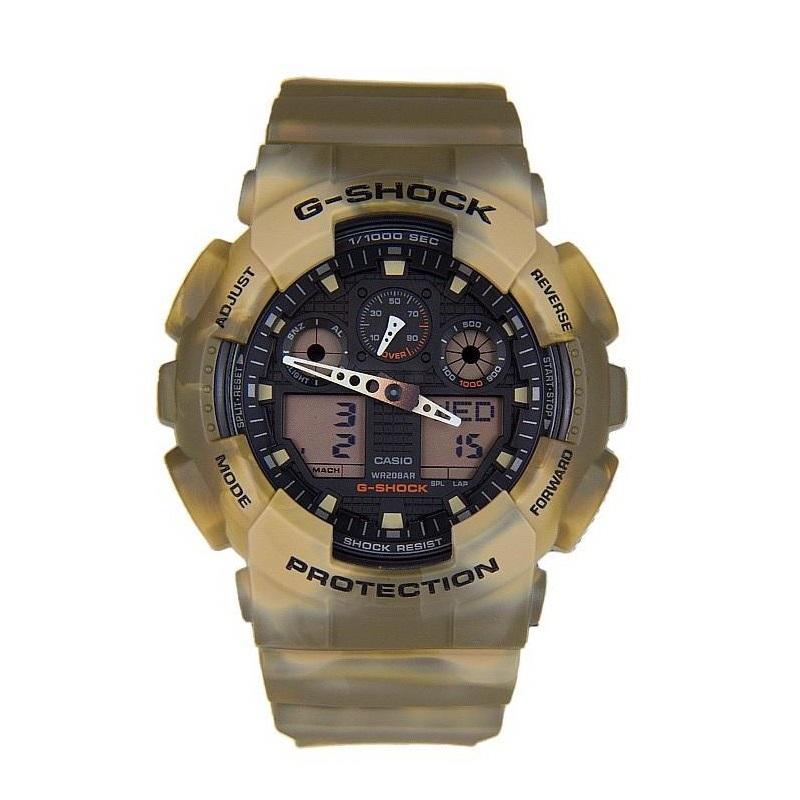 ساعت مچی عقربه ای مردانه کاسیو  مدل جی شاک GA-100MM-5ADR
