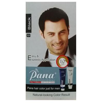 Photo of کیت رنگ موی آقایان پانا مدل 101 حجم 40 میلی لیتر