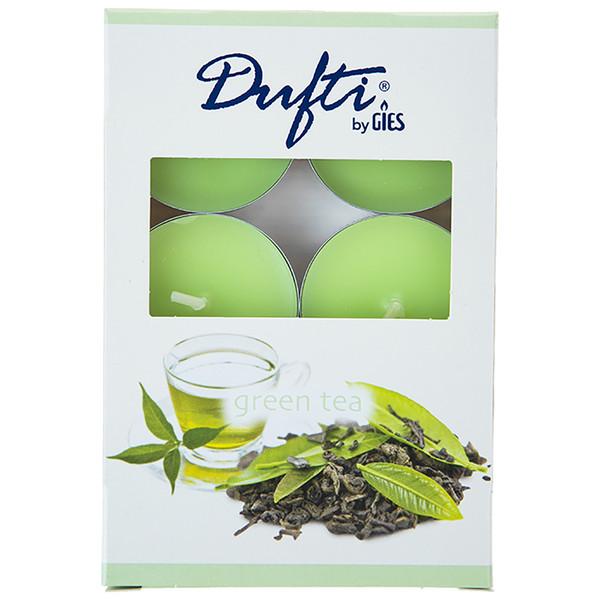 شمع وارمر گیس مدل چاي سبز بسته 6 عددی